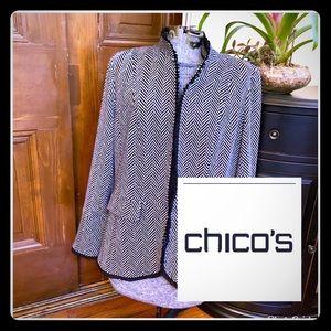 Chico's Size 12 Blazer
